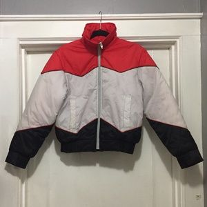 Vintage 70s Sears Puffer Ski Jacket Women's Medium